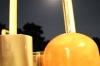 クリスタルボウルと満月