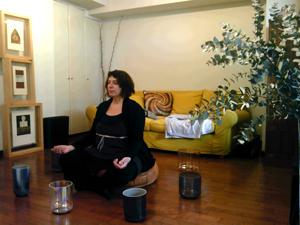 クリスタルボウル瞑想